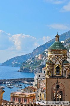 Tower Tops, Amalfi, Italy