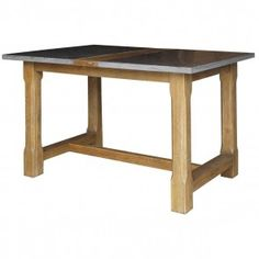 The Bluestone farmhouse pub table combines modern design with oak wood reclaimed from old buildings. Reclaimed Wood Table Top, Solid Wood Table Tops, Reclaimed Furniture, Oak Table Top, Wooden Table Top, Restaurant Table Tops, Farmhouse Kitchen Tables, Table Furniture, Outdoor Furniture