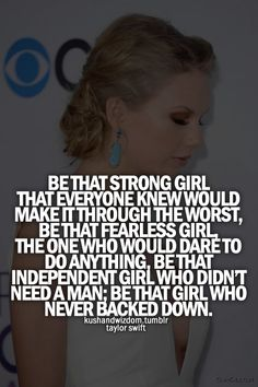 Taylor Swift; quote