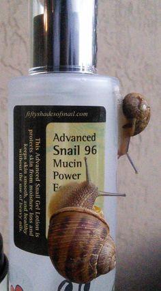 Wish List -Snail Skincare, COSRX Snail Essence and Cream  Con baba de caracol, para el acné y cicatrices
