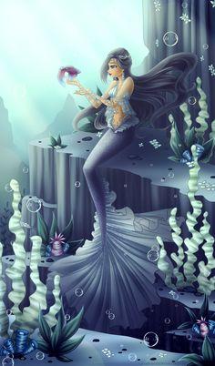 Mermaid by LaminaNati.deviantart.com on @deviantART
