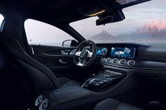 Mercedes-Benz AMG GT 63 S | CGI on Behance Mercedes Benz Amg, Cinema 4d, Cgi, Behance, Model, Automobile, Scale Model, Models