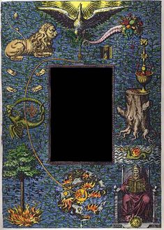 Frontispiece from Beroalde de Verville's Le Tableau des riches inventions. Paranormal, Alchemy Tattoo, Masonic Symbols, Real Tattoo, Occult Art, Art Graphique, Medieval Art, Magick, Mystic