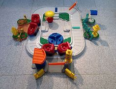 2002 Fisher Price Little People Fun Sounds Train Playset 77999 No Sound | eBay