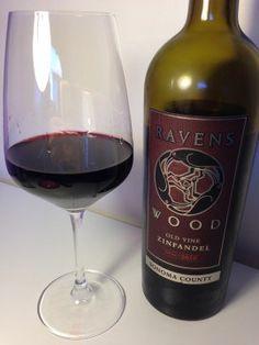 DARK TEMPTATION of a #WINE Tasting Ravenswood Sonoma County Old Vine #Zinfandel Good wine