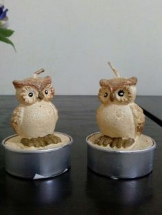 Candles owls!