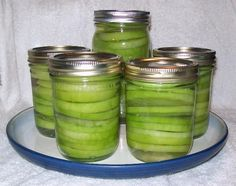 How to Can Green Tomatoes for Frying