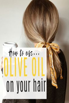 Benefits of Olive Oil for Hair and how to use olive oil on your heair. Thrifty beautu tips that really work and will help with hair growth too. Fab hair hacks form your pantry  #Oliveoil #hair #hairhacks #hairtips  #abeautifulspace What Is Olive Oil, Olive Oil Skin, Dying Your Hair, Olive Fruit, Coloured Hair, Hair Shampoo, Hair Oil, Beautiful Space, Textured Hair