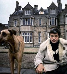 #Sixties | Oliver Reed at his home, Broome Hall