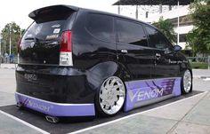 Modifikasi Mobil Toyota Avanza Hitam Ceper 2014