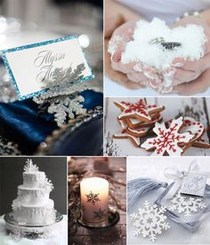 Snowflake winter wedding decoration and details. winter wedding ideas with Vintage Wedding Favors, Winter Wedding Favors, Winter Wedding Decorations, Snowflake Decorations, Unique Wedding Favors, Wedding Themes, Wedding Ideas, Winter Weddings, Wedding Planning