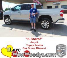 """""""5 Stars!"""" Troy S. O"""