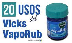 20 usos del vicks vaporub que no conocias Vicks Vaporub, Coffee Cans, Diabetes, Remedies, Weight Loss, Personal Care, Healthy, Archery, Veronica