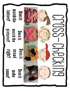 This freebie was inspired by one of my sweet former colleagues.  Beth took pictures of her students doing the cross-checking hand motions, glued th...