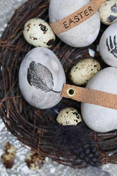 Ich muss euch sagen es ostert sehr-  Eier im Nordic Style