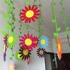 printemps bricolage activé enfants