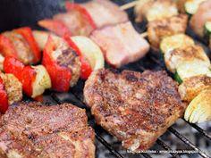 grillowanie, grilluj ze smaczna pyza, przyprawy do grilla, udany grill, weekend, mieso z grilla, karczek z rusztu