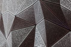 UTS GREAT HALL – ULTIMO - #GreatHall #DRAW #Sydney #university #architecture #perforations #mantle #copper #composite #triangles #scripted #designcompetition #facets #rhino #grasshopper: