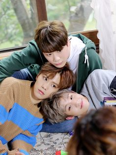 Rocky, MoonBin & JinJin - they all look like babies!