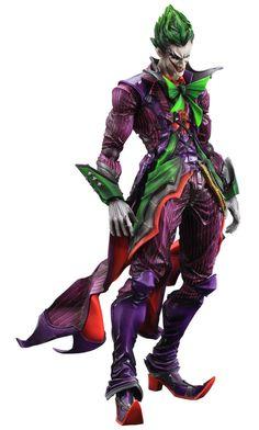 DC Comics Variant Play Arts Kai figurine The Joker Square-Enix