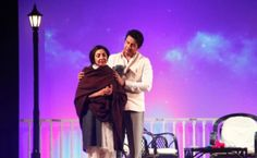 Famous play #EkMulaqaat, that stars #DeeptiNaval and #ShekharSuman as #novelist #AmritaPritam and poet-lyricist #SahirLudhianvi is going to be staged in #Singapore.