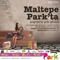 Maltepe Park'ta alışveriş çok güzel! Birbirinden güzel hediyeler ve güzellik sırları 18-31 Aralık 2014 tarihleri arasında ''Güzellik ve Hediyelik Eşya Günleri'' ile Maltepe Park'ta sizi bekliyor. #hediye #yeniyıl #güzellik #alışveriş #maltepe #istanbul
