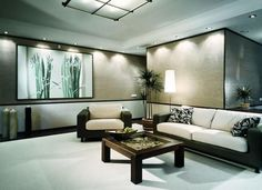 Living Room With Japanese Inspiration - Interior designs for your home
