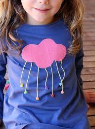 Resultado de imagen para como adornar una camiseta de niña