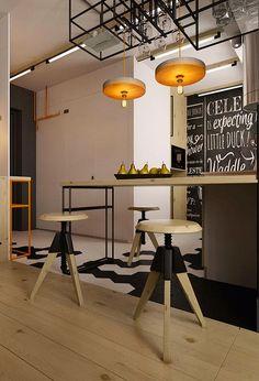 Vintage & Chic · Blog decoración. Vintage. DIY. Ideas para decorar tu casa: Un pequeño apartamento con toques industriales (y muy masculino) · A small, industrial & masculine apartment