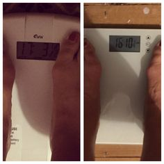 Fitter.Thinner.Happier: Wednesday Weigh in - Week 4. Back on the slow path