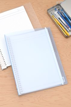 Great for students, Kokuyo Campus Slide Binders and Refills have opening rings that make it easy to reorganize your notes.