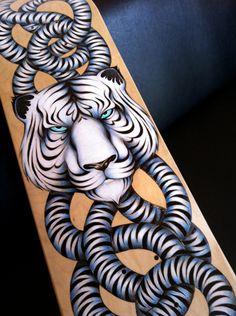 Sk8 Of The Art Skateboard by Gina Kiel, via Behance  skate art