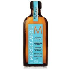 "Moroccanoil Oil Treatment    ""It moisturizes without leaving an oily residue or weighing down my hair. It smells amazing! It was recommended to me by one of my caucasian sisters. Best product ever."" — Tionie Smith"