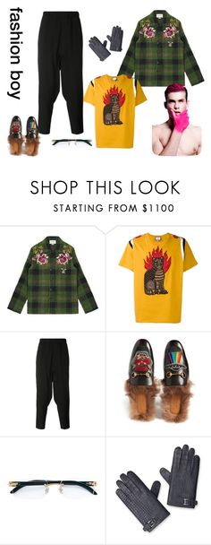 """""""fashion boy"""" by denisahad ❤ liked on Polyvore featuring Gucci, Issey Miyake, Cartier, men's fashion and menswear"""