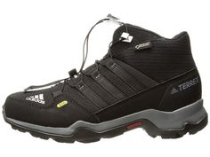 adidas Outdoor Kids Terrex Mid GTX (Little Kid Big Kid) Kids Shoes Black 6c49564360c