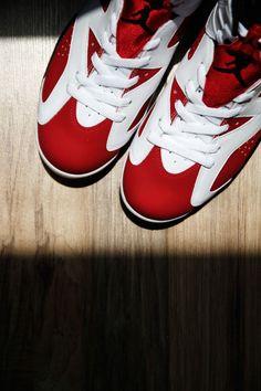 #Nike #Air #Jordan 6 'Carmine'