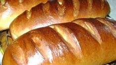 Homemade loaves in the oven. Hungarian Recipes, Russian Recipes, Baking And Pastry, Bread Baking, Pan Focaccia, Wine Recipes, Bread Recipes, Bread And Pastries, No Bake Treats