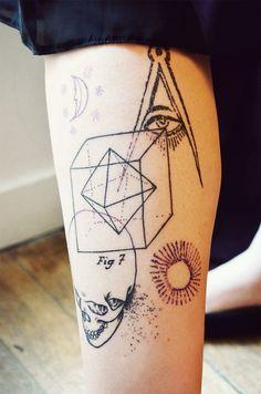 Science-y tattoo