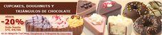 ¡Cupcakes, Doughnuts y Triángulos de chocolate ahora -20%! ¡Disfruta ahora, solo hasta mañana!