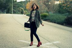 Color me Nana featured Cayon Marlo Kork-Ease boots while street stomping!