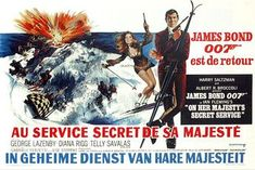 On Her Majesty's Secret Service Poster #6 1969
