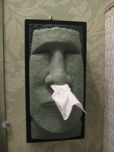 1000 images about stone tissue box covers on pinterest tissue box covers tiki head and - Nose tissue dispenser ...