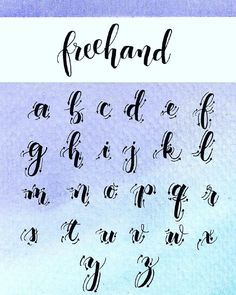 fonts for bullet journal alphabet ~ fonts for bullet journal - fonts for bullet journal hand lettering - fonts for bullet journal alphabet Hand Lettering Alphabet, Brush Lettering, Cursive Alphabet, Brush Letter Alphabet, Letter Writing, Bullet Journal Hand Lettering, Watercolor Hand Lettering, Watercolor Calligraphy Alphabet, Water Color Calligraphy