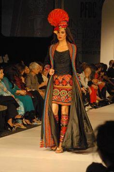 Akif Mahmood at PFDC Sunsilk Fashion Week Karachi 2010