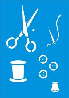 Stencil Patterns, Stencil Designs, Craft Patterns, Stencils, Stencil Art, Kirigami, Fiber Art, Screen Printing, Needlework