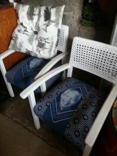 Mandella rattan back chairs!