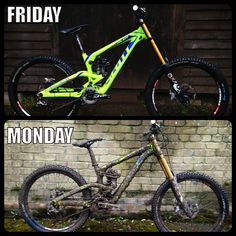 There are at least 2 great reasons to do your own bike repairs. Commonly known as DIY (do it yourself) bike repair, one of the main reasons is to simply save Mtb Trails, Mountain Bike Trails, Mountain Biking Quotes, Downhill Bike, Bike Meme, Cycling Memes, Mt Bike, Road Bike, Montain Bike