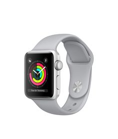 Apple Watch - Silver Aluminium Case with Fog Sport Band - Apple (CA)