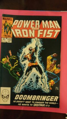 Power Man and Iron Fist #103 Mar 83