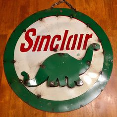 Check out this new product: Sinclair Oil Recy...  Buy it here now: http://www.synonyco.com/products/sinclair-oil-recycled-metal-3d-sign-23x23x2?utm_campaign=social_autopilot&utm_source=pin&utm_medium=pin